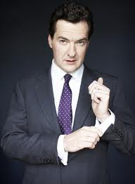 George Osborne fixes cufflink