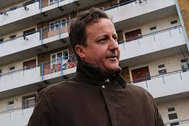 cameron on housing estate