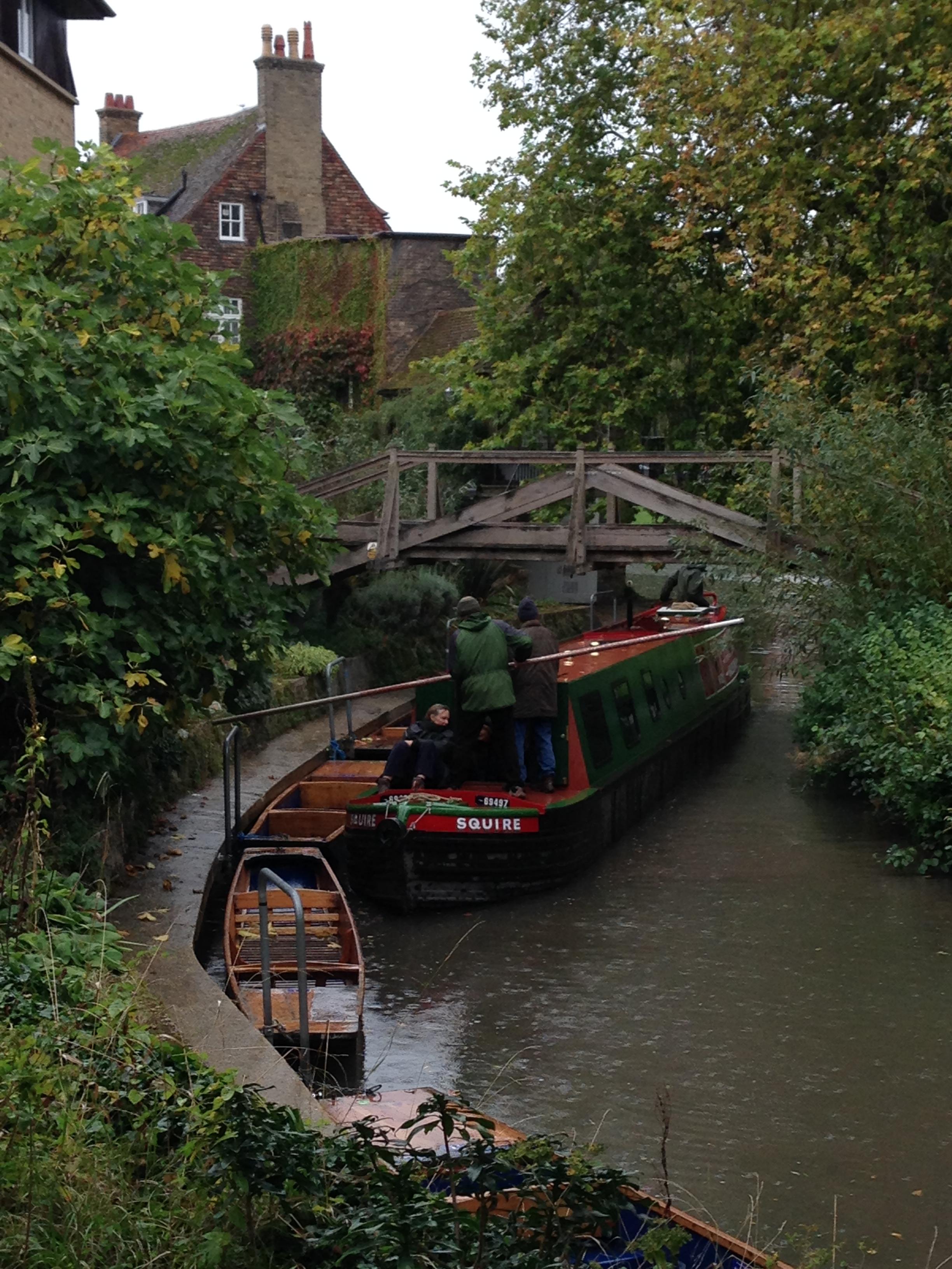 narrowboard upriver 4